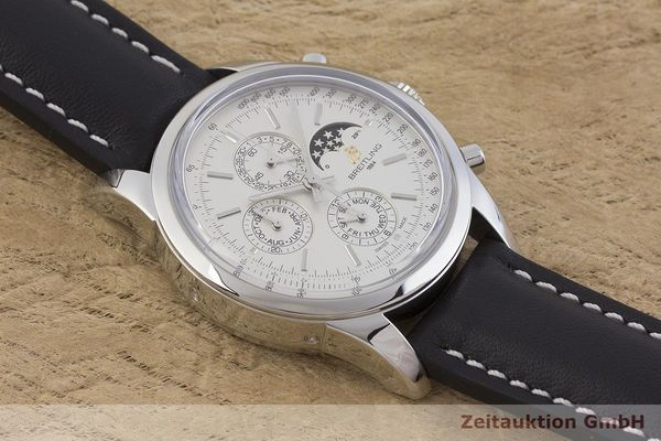 gebrauchte Luxusuhr Breitling Transocean Chronograph Stahl Automatik Kal. 2892A2 Ref. A19310  | 1901223 _1
