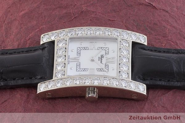 gebrauchte Luxusuhr Chopard Your Hour 18k Weissgold Quarz Kal. ETA 976.001 Ref. 4451, 13/6621  | 1901327 _0