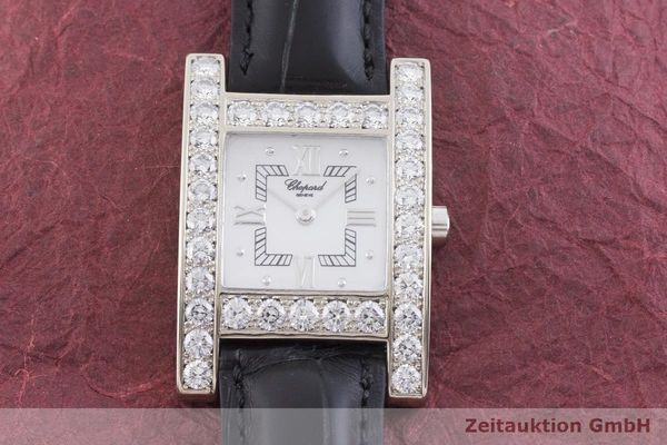 gebrauchte Luxusuhr Chopard Your Hour 18k Weissgold Quarz Kal. ETA 976.001 Ref. 4451, 13/6621  | 1901327 _1