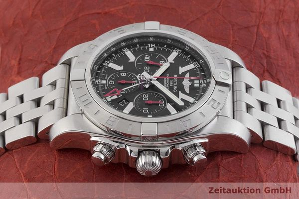 gebrauchte Luxusuhr Breitling Chronomat 47 GMT Chronograph Stahl Automatik Kal. B04 Ref. AB0412 LIMITED EDITION | 1901446 _0