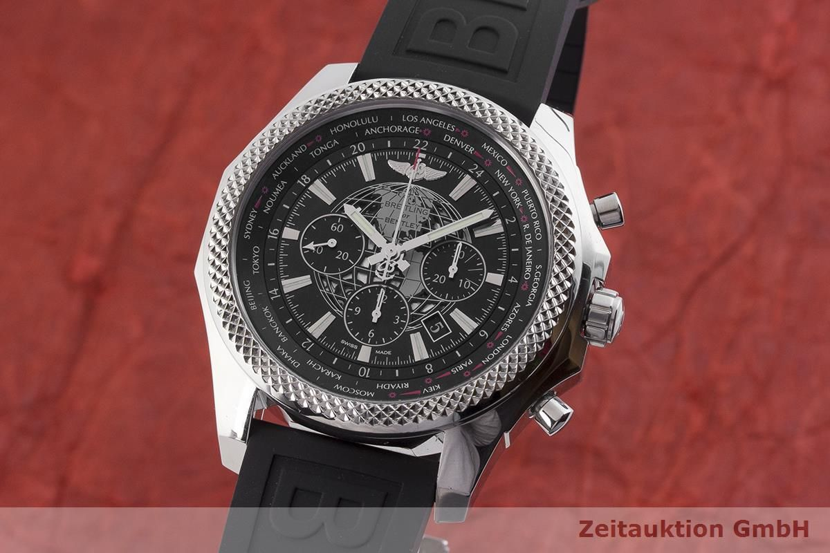 Breitling For Bentley >> Breitling Bentley Chronograph Steel Automatic Men S Watch Ab0521 Lp 9790eur 1903260