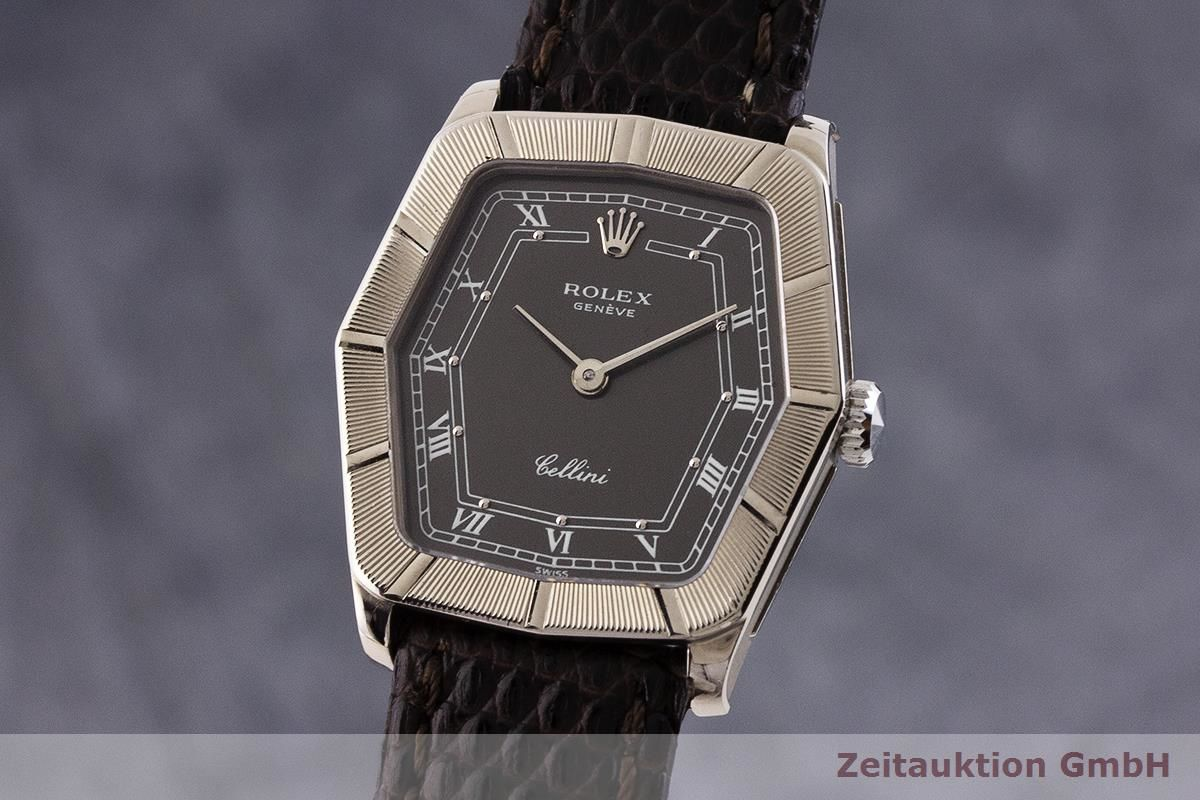 ROLEX CELLINI 18 CT WHITE GOLD MANUAL WINDING WOMEN\u0027S WATCH 4160 LP  4300EUR VINTAGE [1904104]