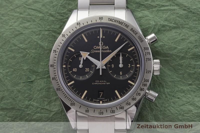 gebrauchte Luxusuhr Omega Speedmaster Chronograph Stahl Automatik Kal. 9300 Ref. 331.10.42.51.01.002     2000003 _1
