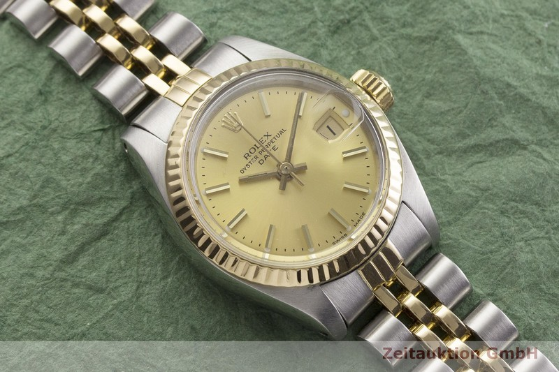 gebrauchte Luxusuhr Rolex Date Stahl / Gold Automatik Kal. 2030 Ref. 6917  | 2000007 _1