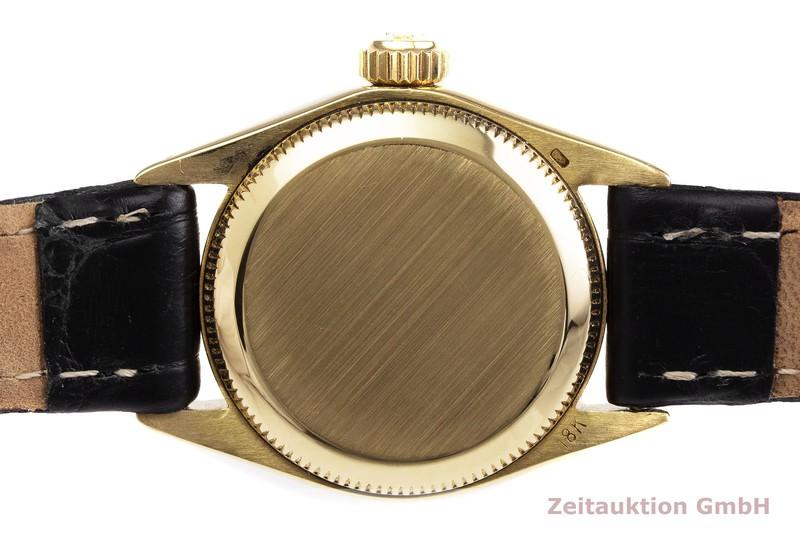 gebrauchte Luxusuhr Rolex Oyster Perpetual 18k Gold Automatik Kal. 1161 Ref. 6618 VINTAGE    2000019 _1