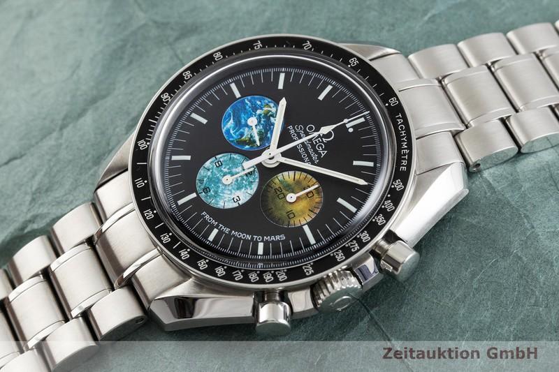 gebrauchte Luxusuhr Omega Speedmaster Chronograph Stahl Handaufzug Kal. 1861 Ref. 35775000, 145.0228 LIMITED EDITION | 2000023 _0