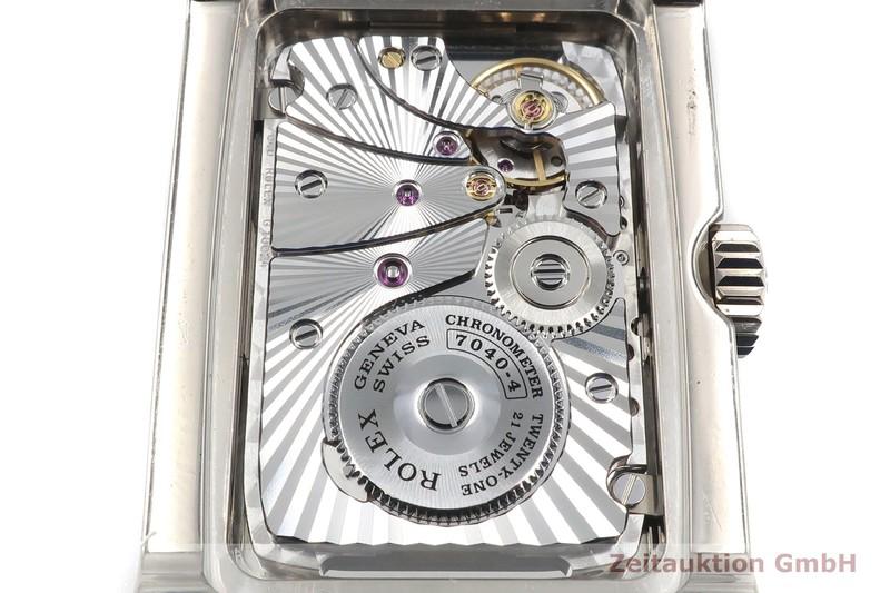 gebrauchte Luxusuhr Rolex Cellini 18k Weissgold Handaufzug Kal. 7040-4 Ref. 5443  | 2000027 _0
