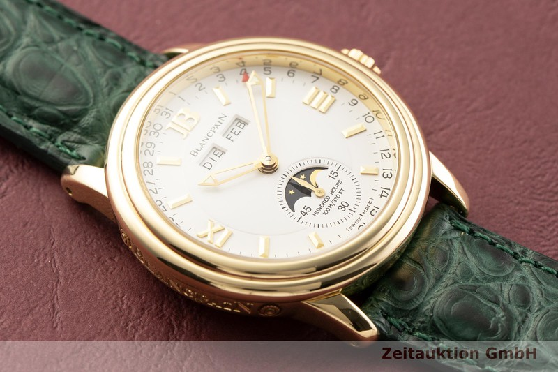 gebrauchte Luxusuhr Blancpain Leman 18k Gold Automatik Kal. 6763  | 2000032 _1