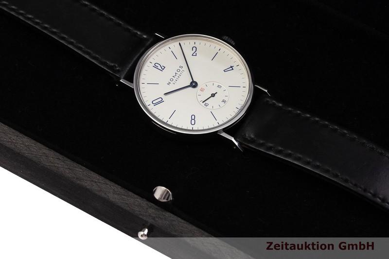 gebrauchte Luxusuhr Nomos Tangente Stahl Handaufzug Kal. Alpha LIMITED EDITION   2000041 _0