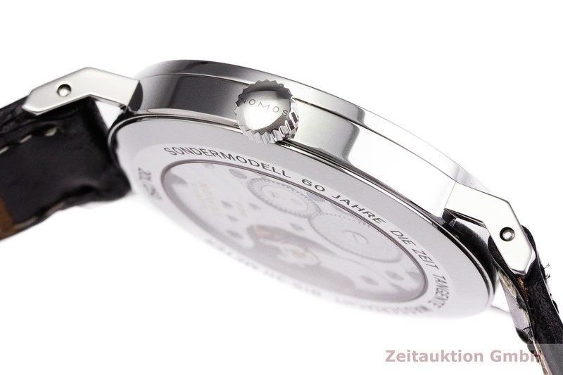 gebrauchte Luxusuhr Nomos Tangente Stahl Handaufzug Kal. Alpha LIMITED EDITION | 2000041 _0