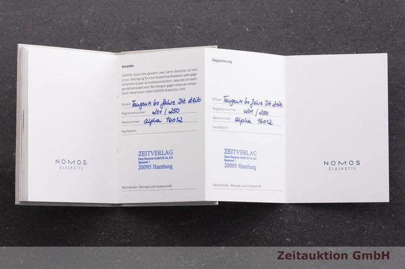 gebrauchte Luxusuhr Nomos Tangente Stahl Handaufzug Kal. Alpha LIMITED EDITION   2000041 _1