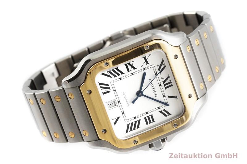 gebrauchte Luxusuhr Cartier Santos Stahl / Gold Automatik Kal. 1847 MC Ref. 4072, W2SA0006  | 2000061 _0