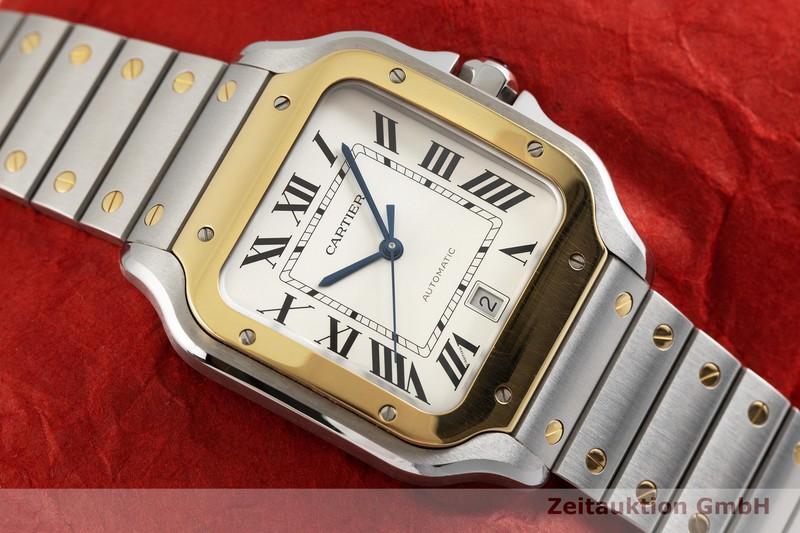 gebrauchte Luxusuhr Cartier Santos Stahl / Gold Automatik Kal. 1847 MC Ref. 4072, W2SA0006  | 2000061 _1