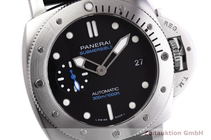 gebrauchte Luxusuhr Panerai Luminor Submersible Stahl Automatik Kal. OP34 Ref. PAM00973  | 2000063 _0