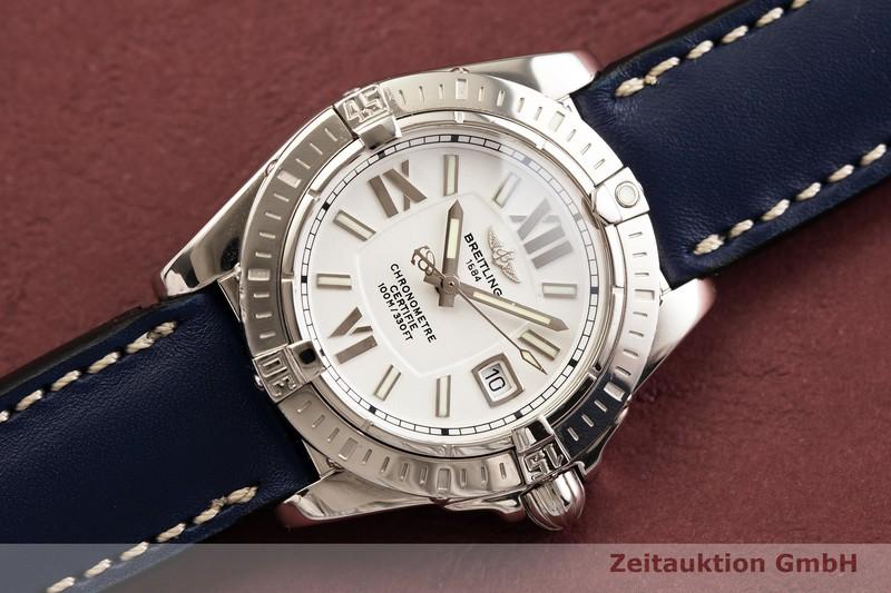 gebrauchte Luxusuhr Breitling Galactic Stahl Quarz Kal. B71 Ref. A71356  | 2000077 _0