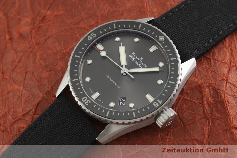 gebrauchte Luxusuhr Blancpain Fifty Fathoms Stahl Automatik Kal. 1315 Ref. 5000-1110  | 2000085 _0