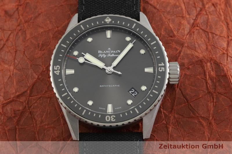 gebrauchte Luxusuhr Blancpain Fifty Fathoms Stahl Automatik Kal. 1315 Ref. 5000-1110  | 2000085 _1