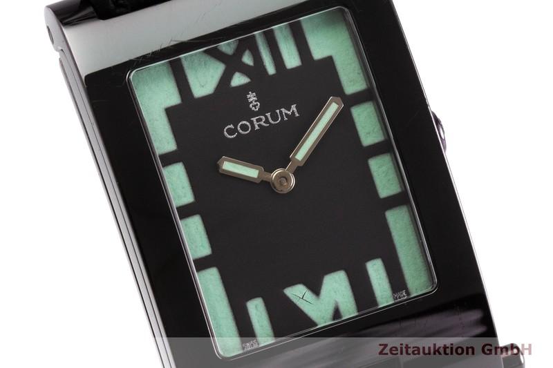 gebrauchte Luxusuhr Corum Tabogan Stahl Quarz Kal. 820 Ref. 64.151.45  | 2000110 _0