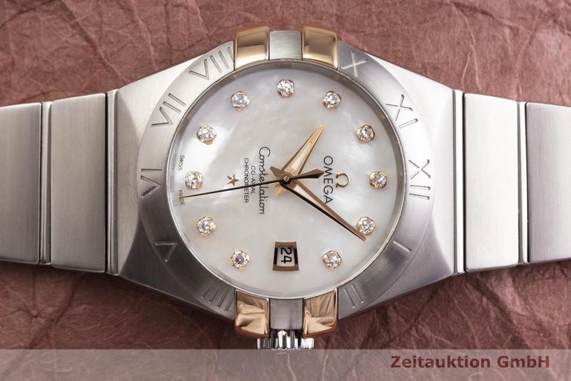 gebrauchte Luxusuhr Omega Constellation Stahl / Gold Automatik Kal. 8520 Ref. 768.2003  | 2000121 _0