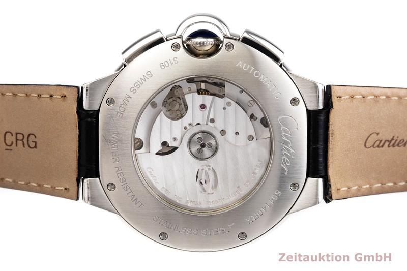 gebrauchte Luxusuhr Cartier Ballon Bleu de Cartier Chronograph Stahl Automatik Kal. 8101MC Ref. 3109  | 2000127 _0