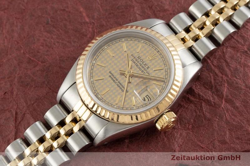gebrauchte Luxusuhr Rolex Datejust Stahl / Gold Automatik Kal. 2135 Ref. 69173  | 2000138 _0