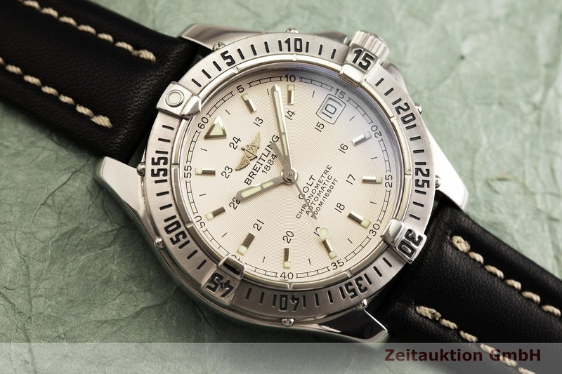 reloj de lujo usados Breitling Colt acero automático Kal. B17, ETA 2824-2 Ref. A17350  | 2000140 _1