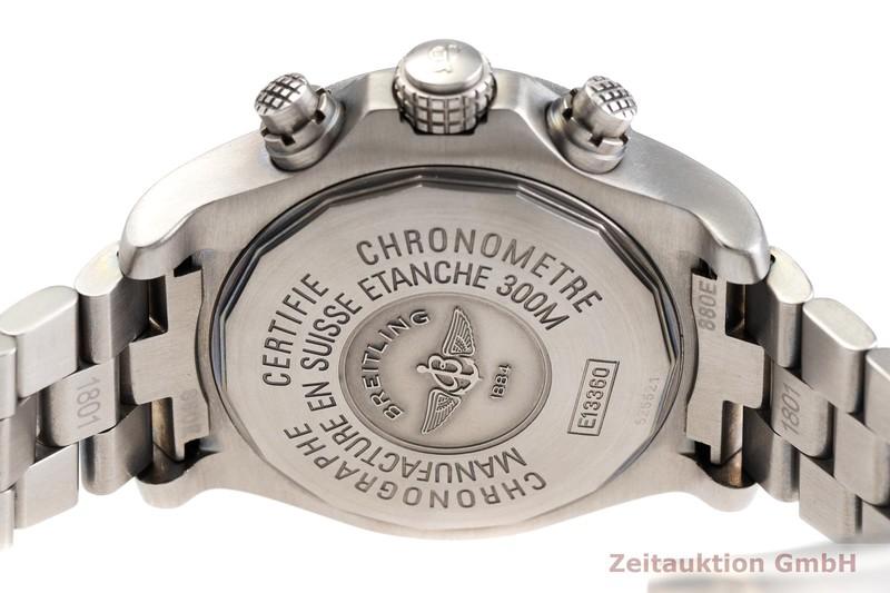 gebrauchte Luxusuhr Breitling Avenger Chronograph Titan Automatik Kal. ETA 7750 Ref. E13360  | 2000142 _0