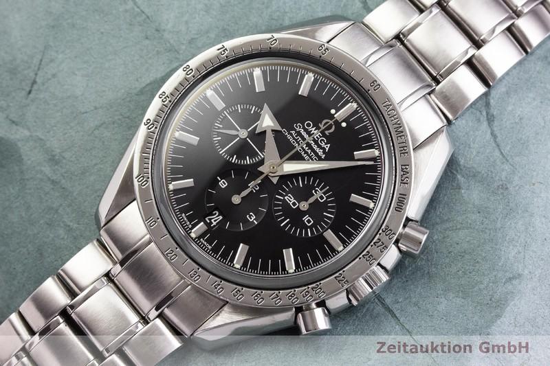 gebrauchte Luxusuhr Omega Speedmaster Chronograph Stahl Automatik Kal. 3303 Ref. 178.0022  | 2000145 _0