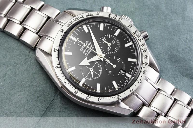 gebrauchte Luxusuhr Omega Speedmaster Chronograph Stahl Automatik Kal. 3303 Ref. 178.0022    2000145 _1