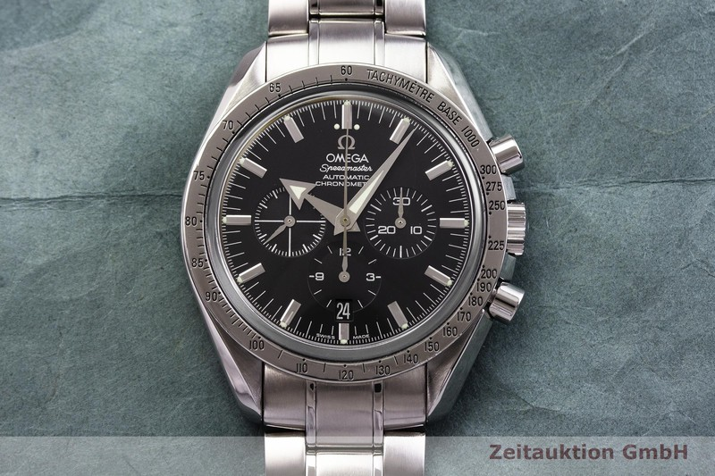 gebrauchte Luxusuhr Omega Speedmaster Chronograph Stahl Automatik Kal. 3303 Ref. 178.0022  | 2000145 _1