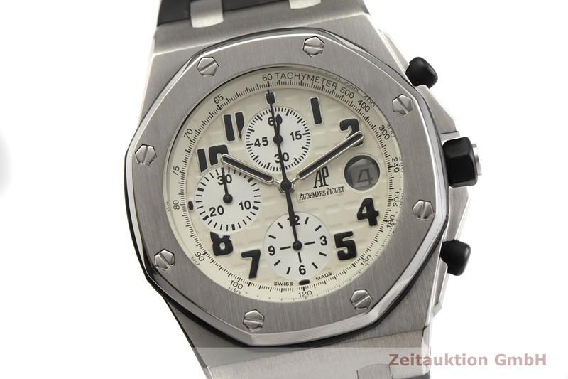 gebrauchte Luxusuhr Audemars Piguet Royal Oak Chronograph Stahl Automatik Kal. 2226 Ref. F17473  | 2000171 _0