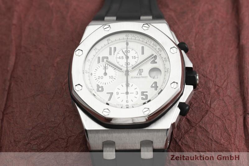 gebrauchte Luxusuhr Audemars Piguet Royal Oak Chronograph Stahl Automatik Kal. 2226 Ref. F17473  | 2000171 _1