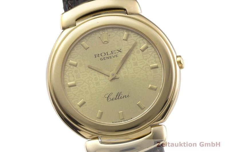 gebrauchte Luxusuhr Rolex Cellini 18k Gold Quarz Kal. 6620 Ref. 6623  | 2000208 _0