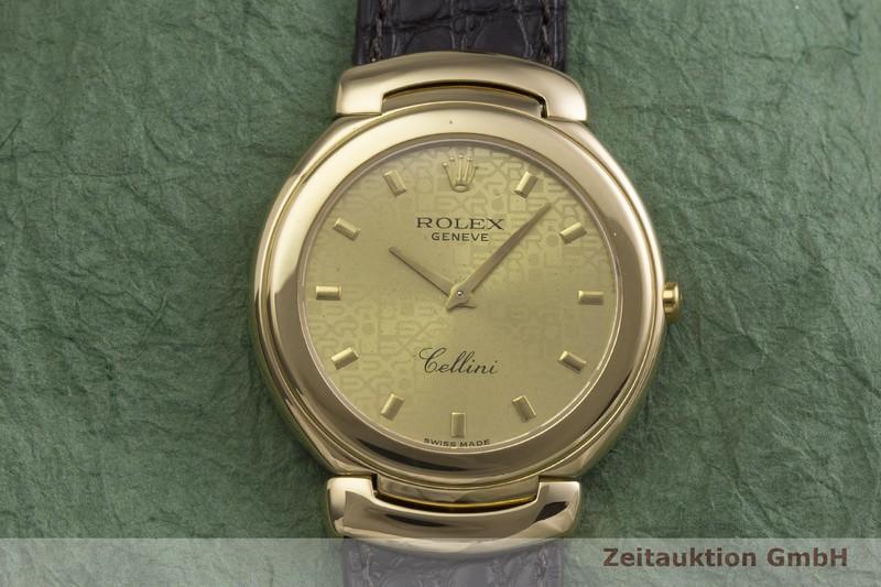 gebrauchte Luxusuhr Rolex Cellini 18k Gold Quarz Kal. 6620 Ref. 6623  | 2000208 _1