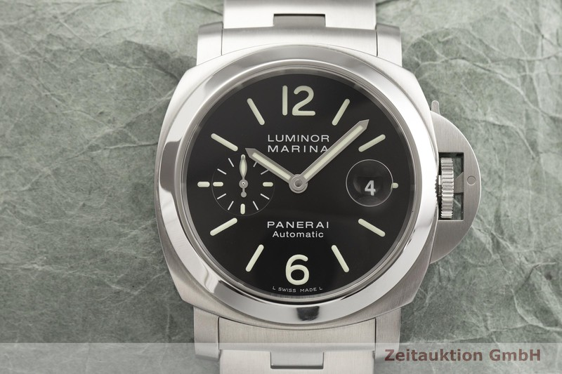 gebrauchte Luxusuhr Panerai Luminor Marina Stahl Automatik Kal. OP III, ETA A05511 Ref. OP6763 LIMITED EDITION | 2000217 _1