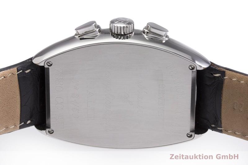 gebrauchte Luxusuhr Franck Muller Casablanca Chronograph Stahl Automatik Kal. 7000C3, ETA 7753 Ref. 7880CCAT LIMITED EDITION | 2000222 _0