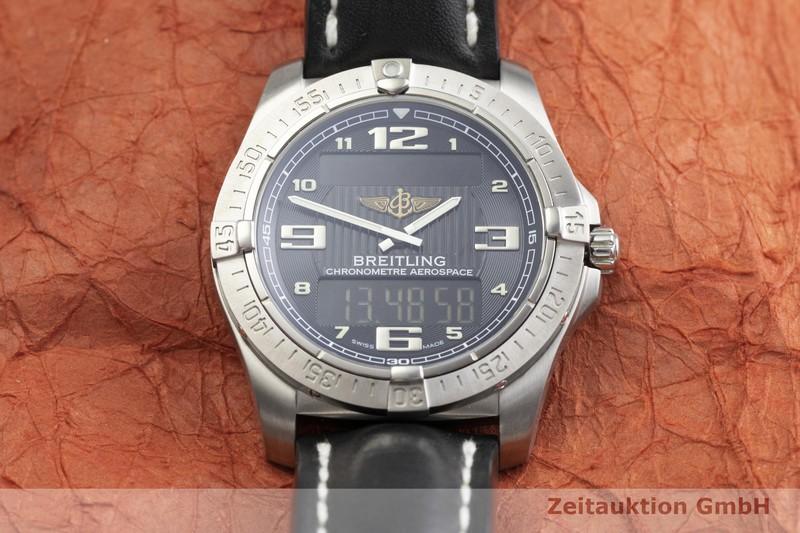 gebrauchte Luxusuhr Breitling Aerospace Titan Quarz Kal. ETA E10.451 Ref. E79362  | 2000228 _1