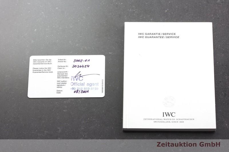 gebrauchte Luxusuhr IWC Fliegeruhr Stahl Automatik Kal. C.50110 Ref. 5002-01  | 2000237 _0
