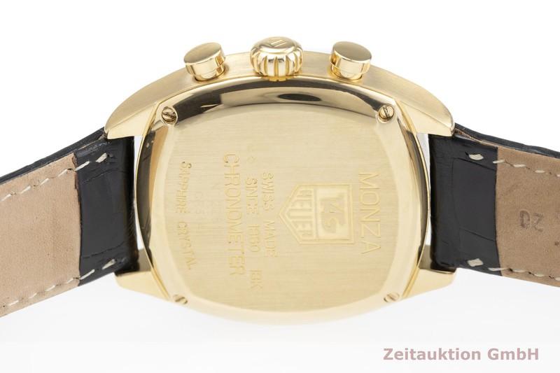 gebrauchte Luxusuhr Tag Heuer Monza Chronograph 18k Gold Automatik Kal. ETA 2894-2 Ref. CR514A  | 2000244 _0