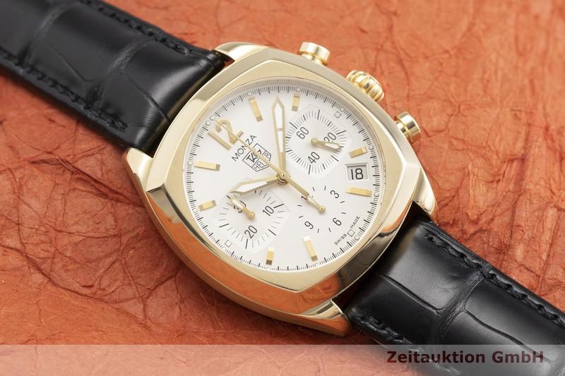 gebrauchte Luxusuhr Tag Heuer Monza Chronograph 18k Gold Automatik Kal. ETA 2894-2 Ref. CR514A  | 2000244 _1