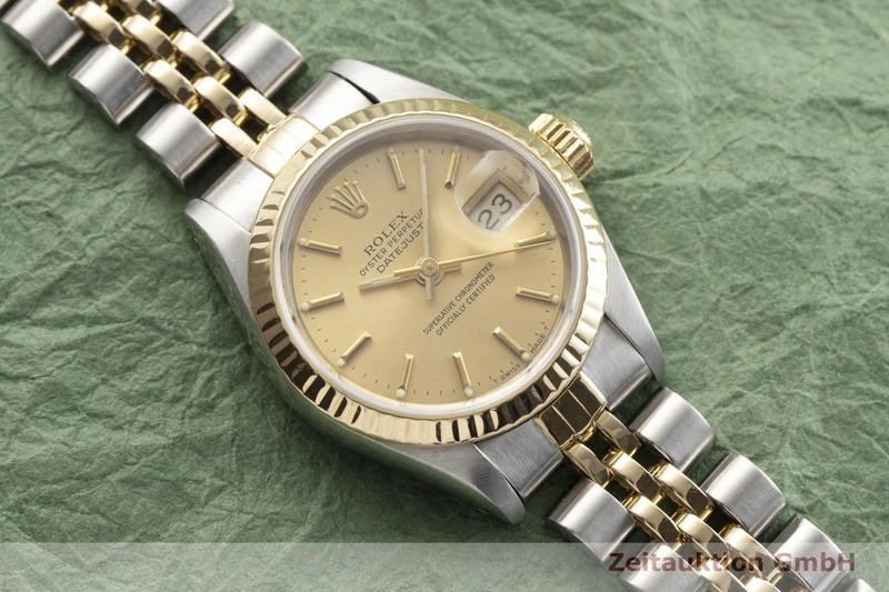 gebrauchte Luxusuhr Rolex Datejust Stahl / Gold Automatik Kal. 2135 Ref. 69173  | 2000269 _1