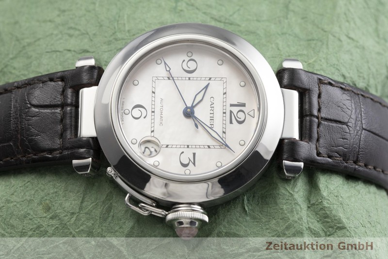 gebrauchte Luxusuhr Cartier Pasha Stahl Automatik Kal. 049, ETA 2892-A2 Ref. 2324 LIMITED EDITION | 2000272 _0