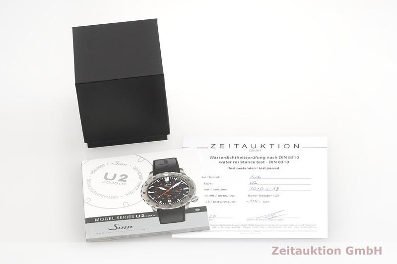 gebrauchte Luxusuhr Sinn U2 Stahl Automatik Kal. ETA 2893-2  | 2000280 _0