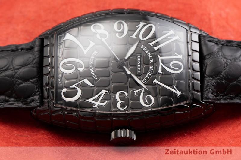 gebrauchte Luxusuhr Franck Muller Black Croco Stahl Automatik Kal. ETA 2892-A2 Ref. 7880SCBLKCRO  | 2000283 _0