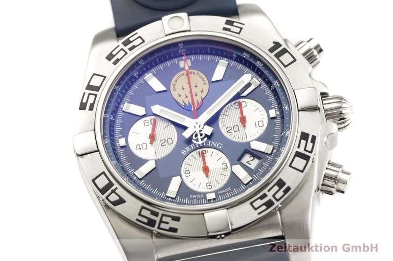 gebrauchte Luxusuhr Breitling Chronomat Chronograph Stahl Automatik Kal. B01 Ref. AB0110 LIMITED EDITION   2000307 _0