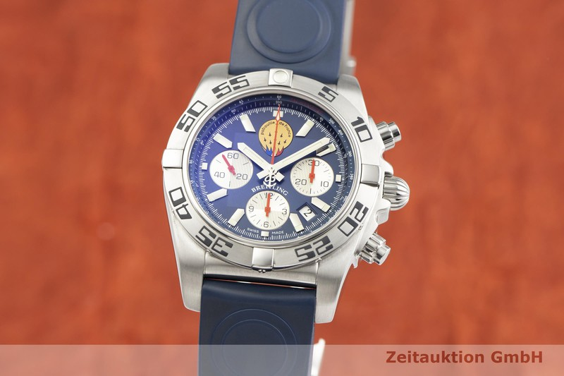 gebrauchte Luxusuhr Breitling Chronomat Chronograph Stahl Automatik Kal. B01 Ref. AB0110 LIMITED EDITION | 2000307 _0
