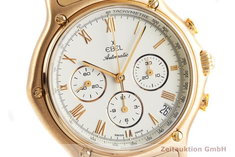 gebrauchte Luxusuhr Ebel 1911 Chronograph 18k Gold Automatik Kal. Zenith El Primero 40.0 Ref. 5134901  | 2000312 _0