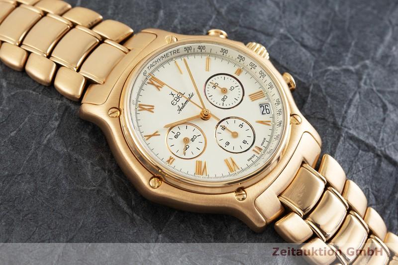 gebrauchte Luxusuhr Ebel 1911 Chronograph 18k Gold Automatik Kal. Zenith El Primero 40.0 Ref. 5134901  | 2000312 _1
