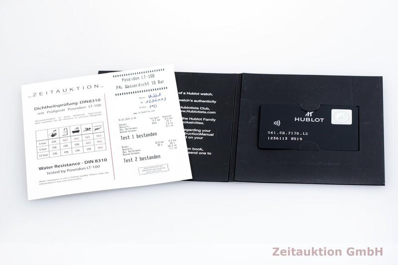 gebrauchte Luxusuhr Hublot Classic Fusion Chronograph Keramik / Titan Automatik Kal. Sellita SW 300-1 Ref. 541.CM.7170.LR  | 2000325 _0