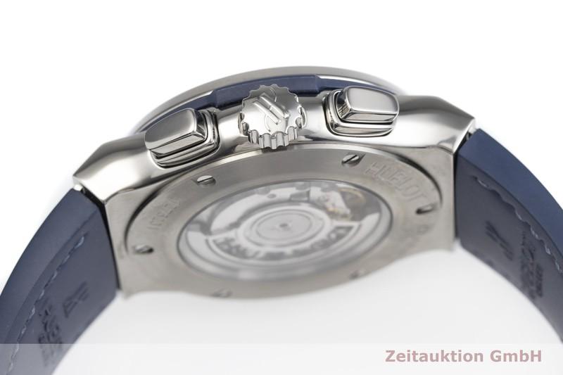 gebrauchte Luxusuhr Hublot Classic Fusion Chronograph Titan Automatik Kal. SW 300-1 Ref. 521.NX.7170.LR  | 2000326 _0